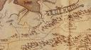 Sección del mapa de The Banner Saga. © Stoic - 2014