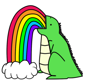 dinosaur_puking_rainbows__by_i_unno-d37csa6