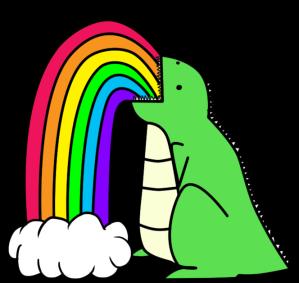 dinosaur_puking_rainbows__by_i_unno-d37csa6