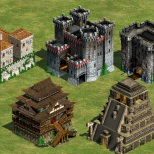 Castillos de Age of Empires 2 © Ensemble Studios - 1999