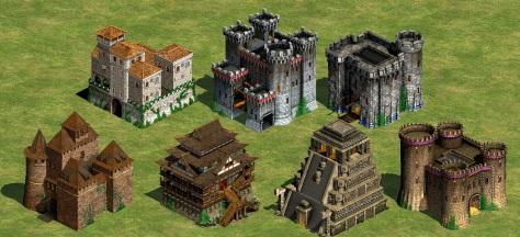 Castillos de Age of Empires 2 © Ensemble Studios - 1999