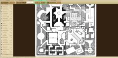 davesmapper.com, herramienta que genera mapas aleatorios para juegos de rol