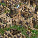 Ejemplo de ciudad de Oriente Medio en el Architecture Renovation Mod de Age of Empires. Vía www.reddit.com