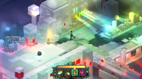 """Espacio en estado avanzado de """"procesamiento"""" © Supergiant Games - 2014."""