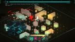 Imagen de combate de Transistor. Sólo quedamos nosotros, los parapetos y los enemigos, todo lo demás sobra. © Supergiant Games - 2014.